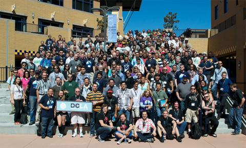 DrupalCamp Group Photo